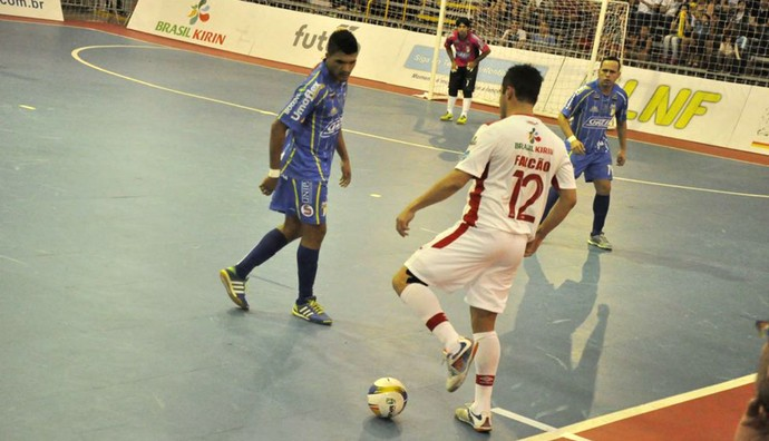 Sorocaba x Umuarama, Falcão, Liga Nacional de Futsal, LNF (Foto: Divulgação / Futsal Brasil Kirin)