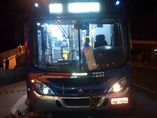 PM reagiu a assalto em ônibus e matou assaltante (Foto: G1)
