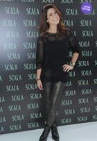 Look do dia: Fernanda Paes Leme ousa com legging brilhosa
