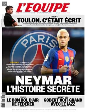 Jornal: Neymar exigiu R$ 119 mi anuais e pagamento de dívida para ir ao PSG