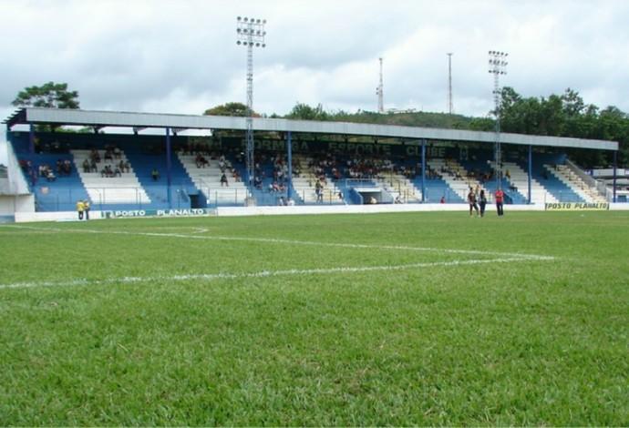 Estádio Juca Pedro Formiga Esporte Clube (Foto: FEC/Divulgação)