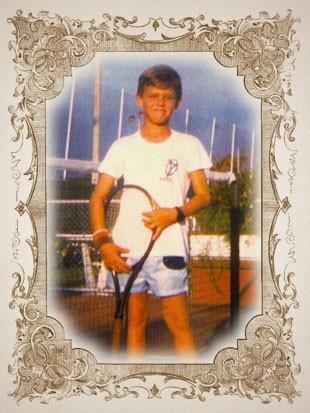 foto criança GUGA moldura (Foto: arte esporte)