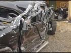 Renan Ribeiro dirigia em zigue-zague, diz motorista; veja fotos do carro