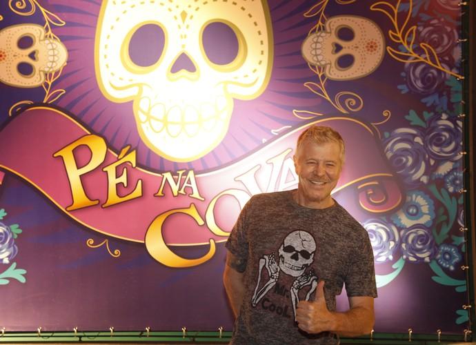 Miguel Falabella apresenta nova temporada de Pé na Cova (Foto: Artur Meninea / Gshow)