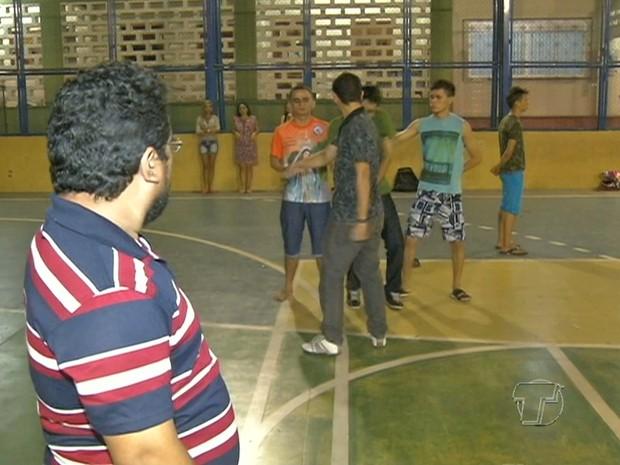 Ensaio Paixão de Cristo em Santarém (Foto: Reprodução/TV Tapajós)