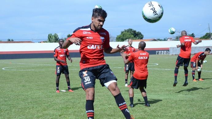 Daniel Borges - lateral-direito do Atlético-GO (Foto: Divulgação / Atlético-GO)