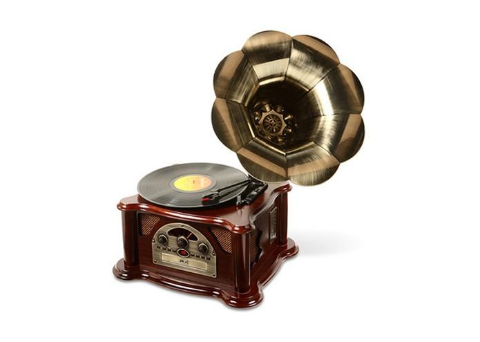 Gramophone Texas toca vinil, CD e MP3 (Foto: Divulgação)