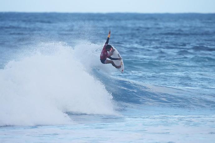 Gabriel Medina quartas de final Pipeline surfe (Foto: Divulgação/WSL)