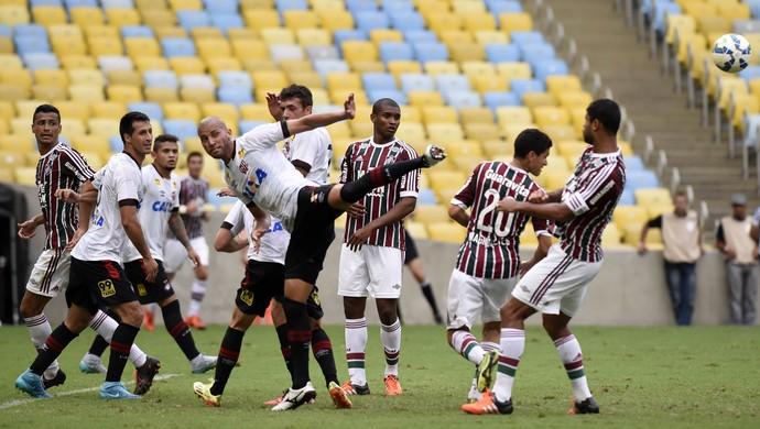 Fluminense Atlético-PR Maracanã (Foto: André Durão / GloboEsporte.com)