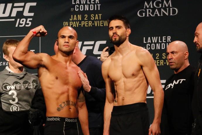 Robbie Lawler x Carlos Condit; UFC 195 (Foto: Evelyn Rodrigues)