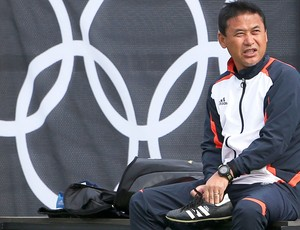 Norio Sasaki, técnico do Japão feminino (Foto: Agência Reuters)