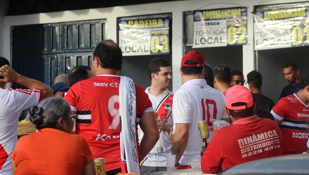 River-PI convoca torcida para jogo contra o Potiguar (Foto: Stephanie Pacheco)