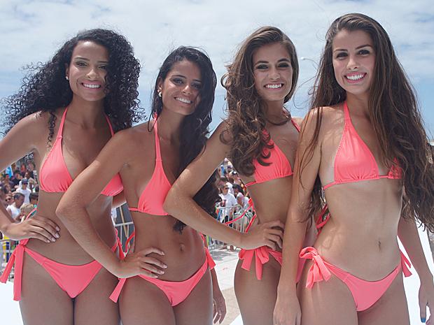 Quatro meninas são eleitas no litoral do RS para o Garota Verão (Foto: Gabriela Loeblein/G1)