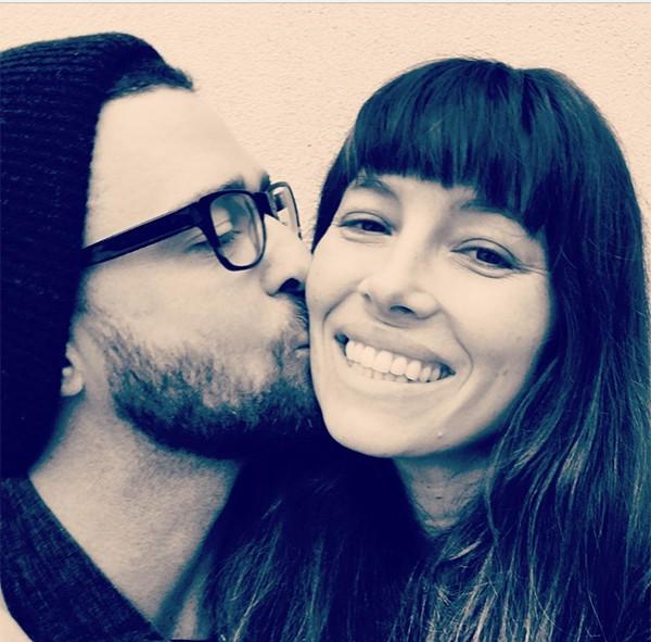 Justin Timberlake e Jessica Biel (Foto: Reprodução Instagram)