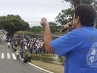 Operários da Embraer entram em greve (Antônio Ferreira de Barros/ Sindicato dos Metalúrgicos)