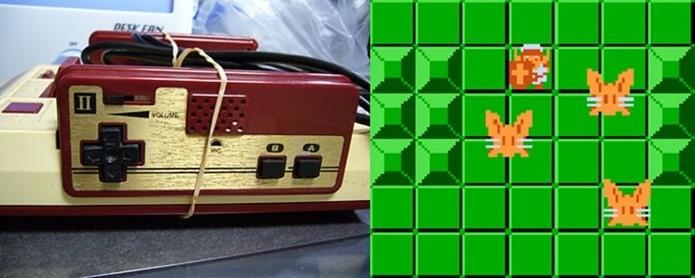 Monstro odeia sons altos, mas você só poderá matá-lo assim se tiver um Famicom (Foto: Reprodução / legendsoflocalization.com)
