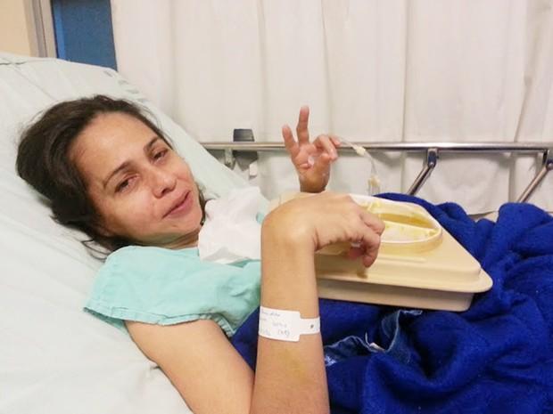 Alexsandra Martins busca um diagnóstico que lhe proporcione um tratamento adequado (Foto: Karla Larissa)