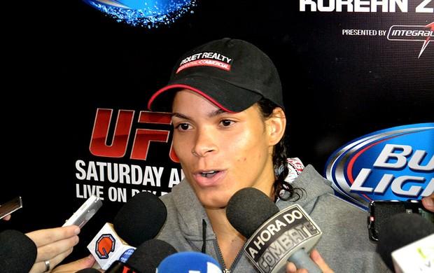 UFC 163 amanda nunes (Foto: Ivan Raupp)