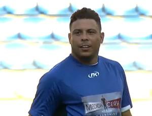 Frame, Ronaldo jogo Medida certa (Foto: Reprodução)