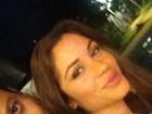 Encontro de ex-BBBs! Maria Melilo curte a noite com Daniel Rolim