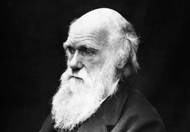 O naturalista inglês Charles Darwin, autor da Teoria da Evolução (Foto: Wikimedia Commons/Wikipedia)