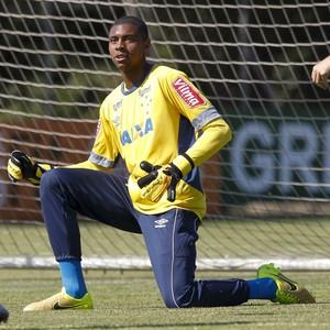 Jonathan, goleiro do Cruzeiro (Foto: Washington Alves/Light Press)