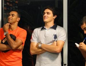 Jogadores do Atlético-MG (Foto: Fernando Martins/Globoesporte.com)