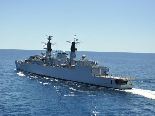 Três navios de guerra da Marinha do Brasil estarão atracados no Porto de Vitória para visitação Espírito Santo (Foto: Divulgação/ Marinha do Brasil)