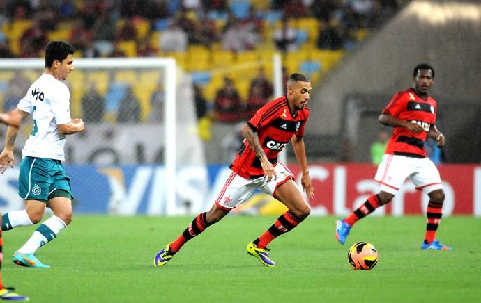Paulinho jogo Flamengo e Goiás Copa do Brasil (Foto: André Durão / Globoesporte.com)