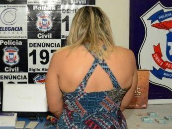 Jovem de 25 anos confessou à polícia ter furtado folhas de cheque (Foto: Varlei Cordova/ Agora MT)