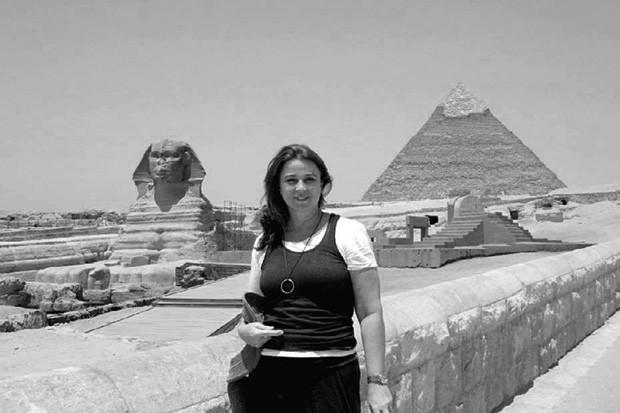 Maria no Egito (Foto: Arquivo pessoal)