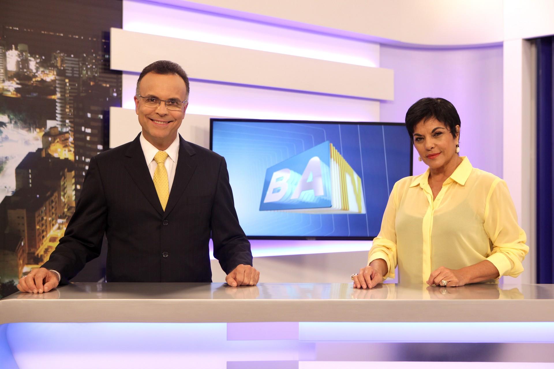 Kátia Guzzo e Jefferson Beltrão comandam as entrevistas no BATV (Foto: Paulo Macedo)