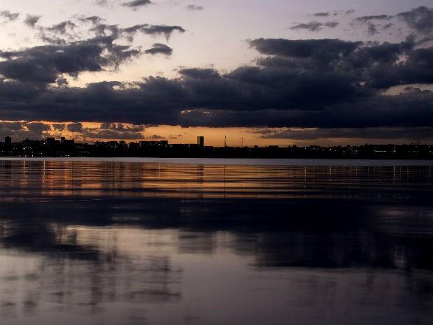 Lago Paranoá, em Brasília (Foto: Beto Barata/Divulgação)