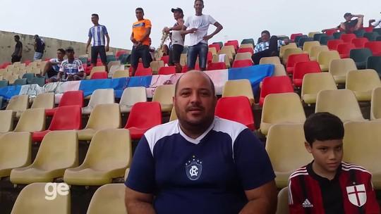 Em jogo da Copa Verde no Acre, torcedor do Remo seca Paysandu