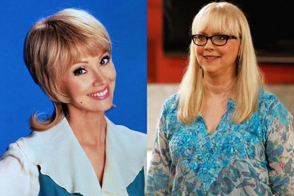 Shelley Long em 1995 e atualmente (Foto: Divulgação)