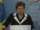 Dilma diz que crise na Europa afeta crescimento de países emergentes