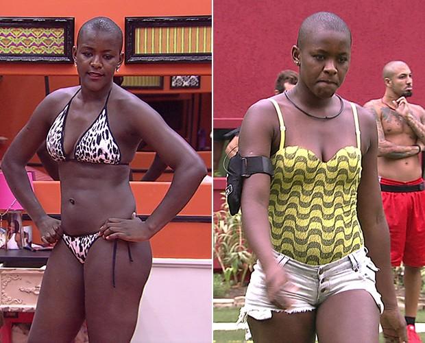 Angélica também ganhou pouco mais de 1 kg. Saiu de 67,2 kg para 68,5 (Foto: TV Globo)