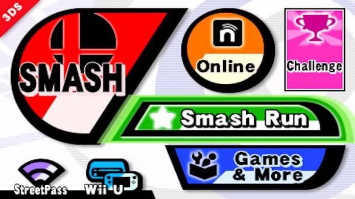 Os menus de Super Smash Bros. são bem confusos (Foto: Arcade Sushi)