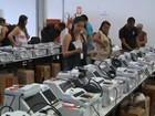 Sete urnas são substituídas e três são reinicializadas em Salvador