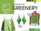 Veja seleção de peças em verde 'Greenery', cor da Pantone para 2017