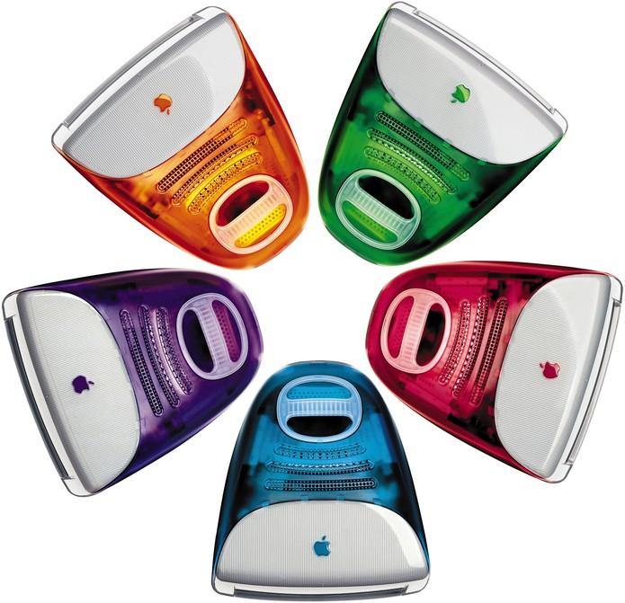 iMac G3 veio em várias opções de cores (Foto: Divulgação)