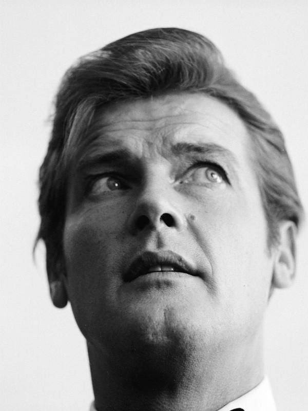 Roger Moore em 1968 (Foto: Getty Images)