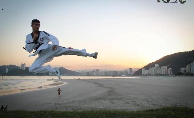 Leonardo Moraes taekwondo (Foto: Arquivo pessoal)