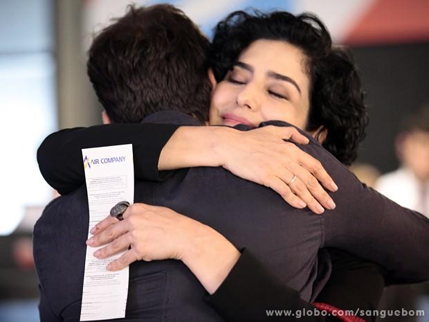 Verônica se despede de Érico (Foto: Pedro Curi / TV Globo)