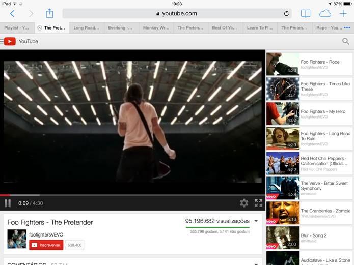 Execute o vídeo e espere que parte de seus dados seja carregada (Foto: Reprodução/Daniel Ribeiro)