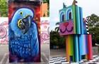 Esculturas presentes no MUBE ajudam a transformar o cenário urbano (Foto: Sangue Bom/TV Globo)
