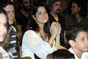 Samara Felippo mostra barriguinha da gravidez de 5 meses (Foto: Graça Paes / PhotoRioNews)