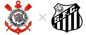 Corinthians x Santos (Foto: TV Globo/ Divulgação)
