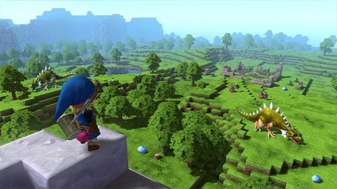 Dragon Quest Builders trouxe um mundo aberto que expandiu vários conceitos de Minecraft (Foto: Reprodução/YouTube)
