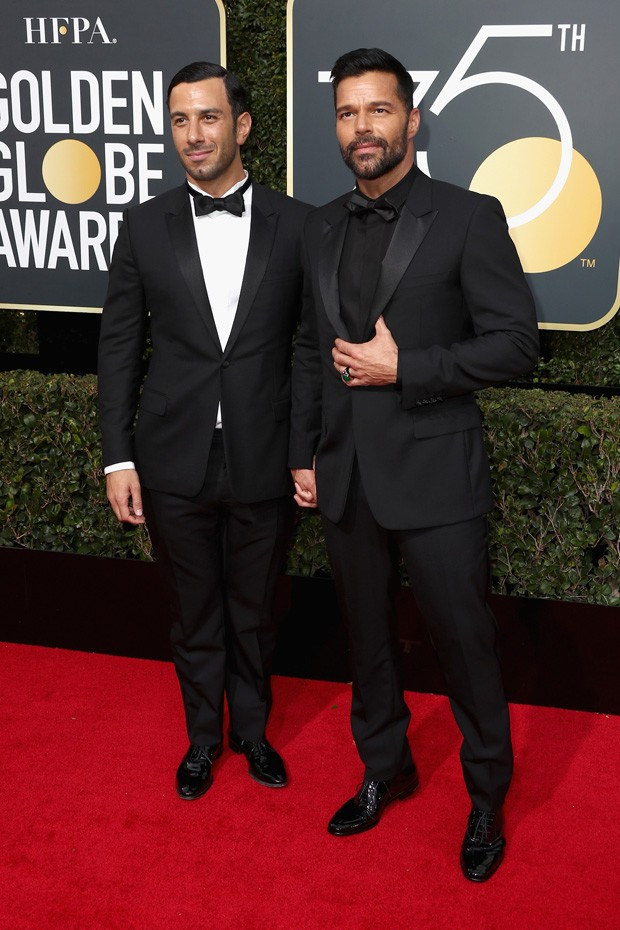 Ricky Martin e Jwan Yosef (Foto: Getty Images)